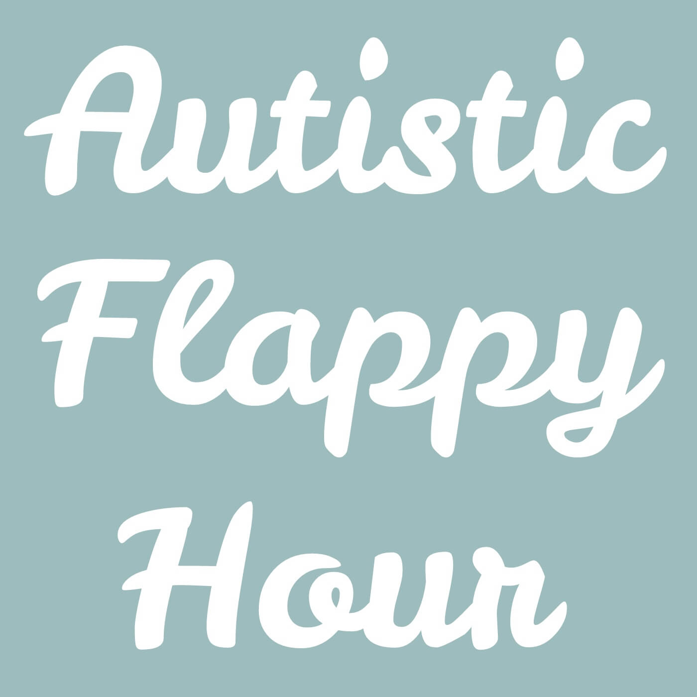 Autistic Flappy Hour Podcast logo