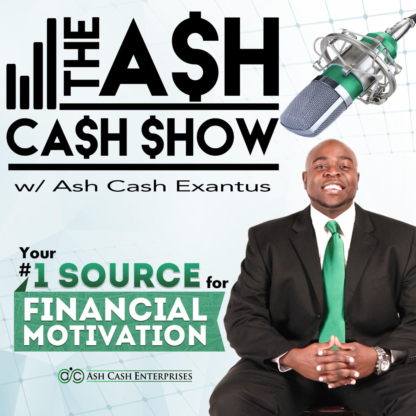 The Ash Cash Show show art