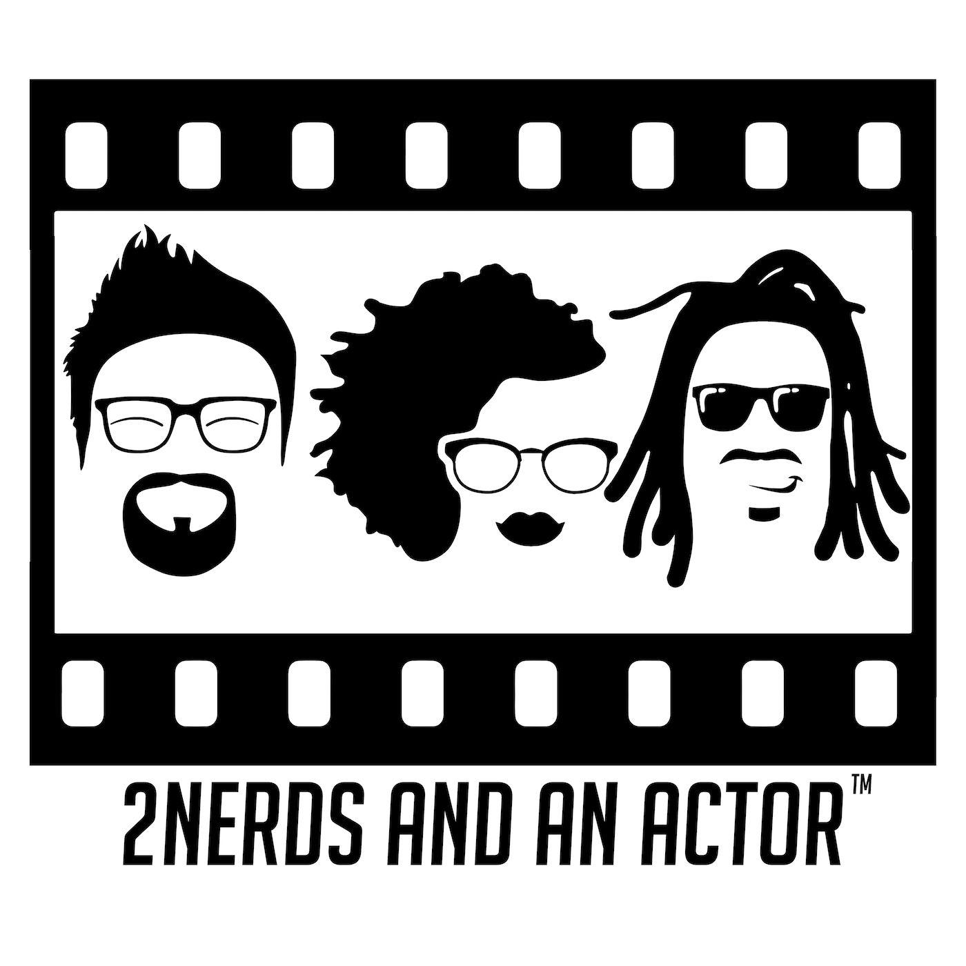 2Nerds and an Actor show art