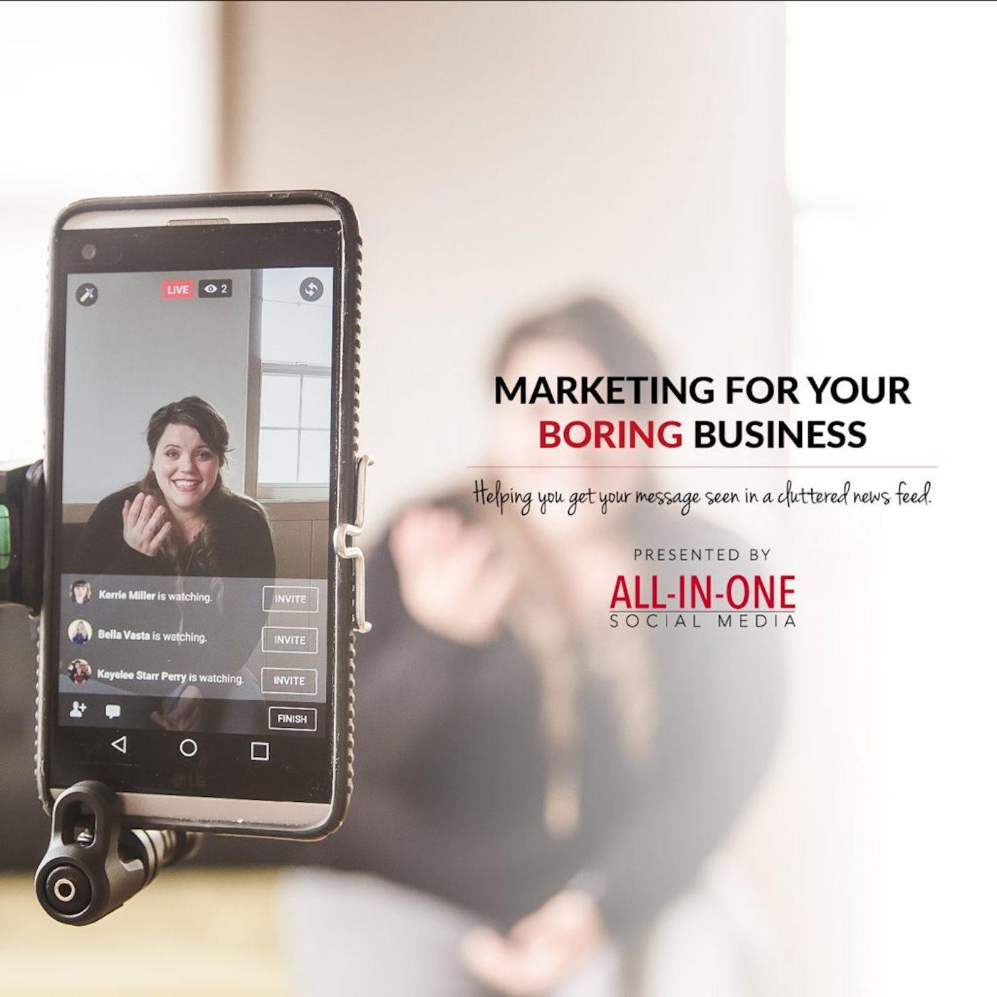 Artwork for Podcast 29 – Social Media Sales Funnel