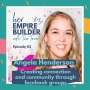Artwork for 63: Creating connection and community through facebook groups with Angela Henderson