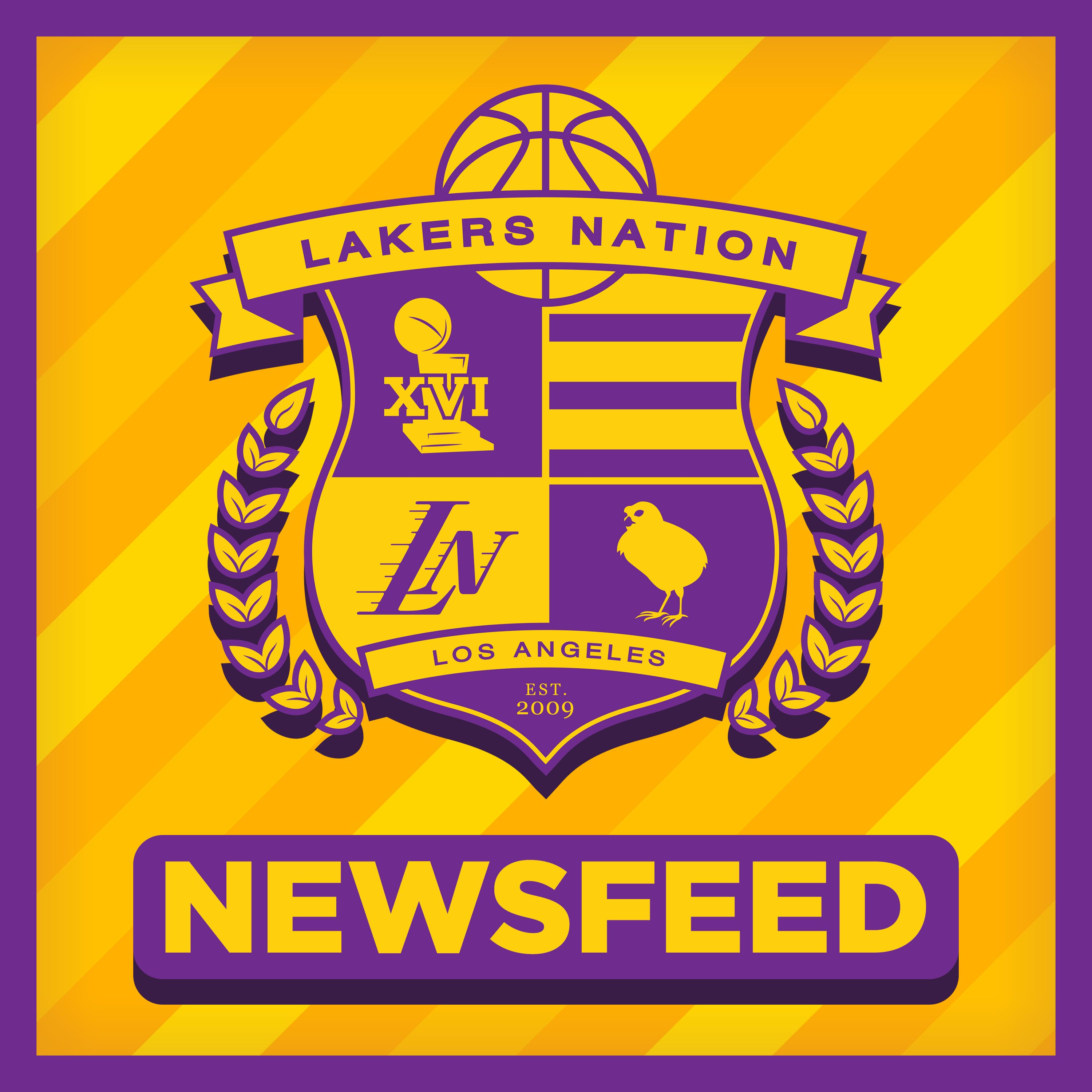Lakers Nation News Feed show art