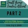 Artwork for Joe Walters on Small Group Leadership, Part 2