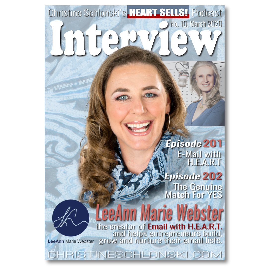 201 LeeAnn Marie Webster - E-Mail with H.E.A.R.T