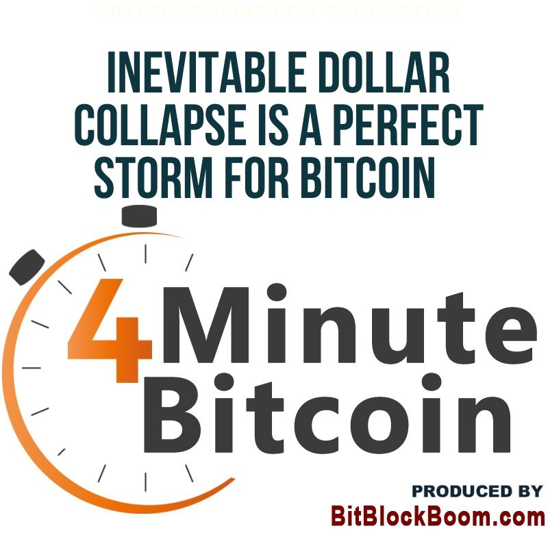 Inevitable Dollar Collapse Is A Perfect Storm for Bitcoin