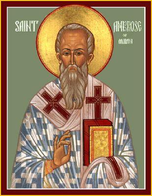 SaintScapades - St. Ambrose
