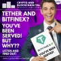 Artwork for Tether and Bitfinex? You've been served! Or so the saying goes…  #98