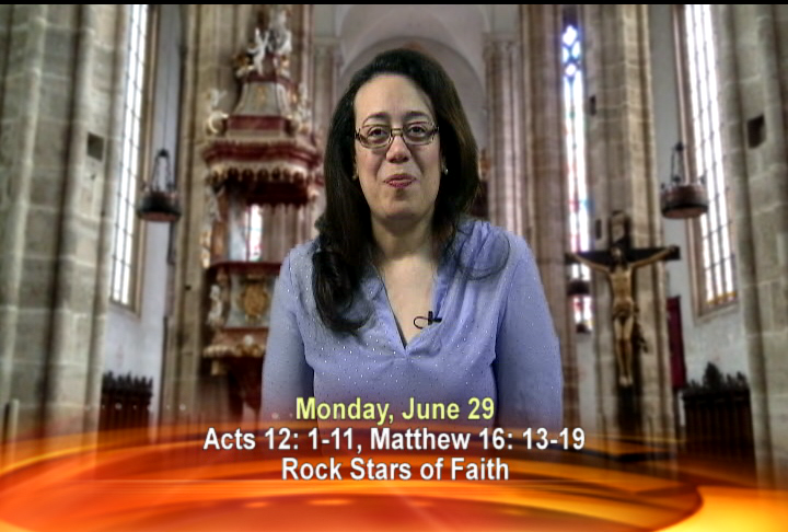 Artwork for Monday, June 29th Today's Topic: Rock Stars of Faith
