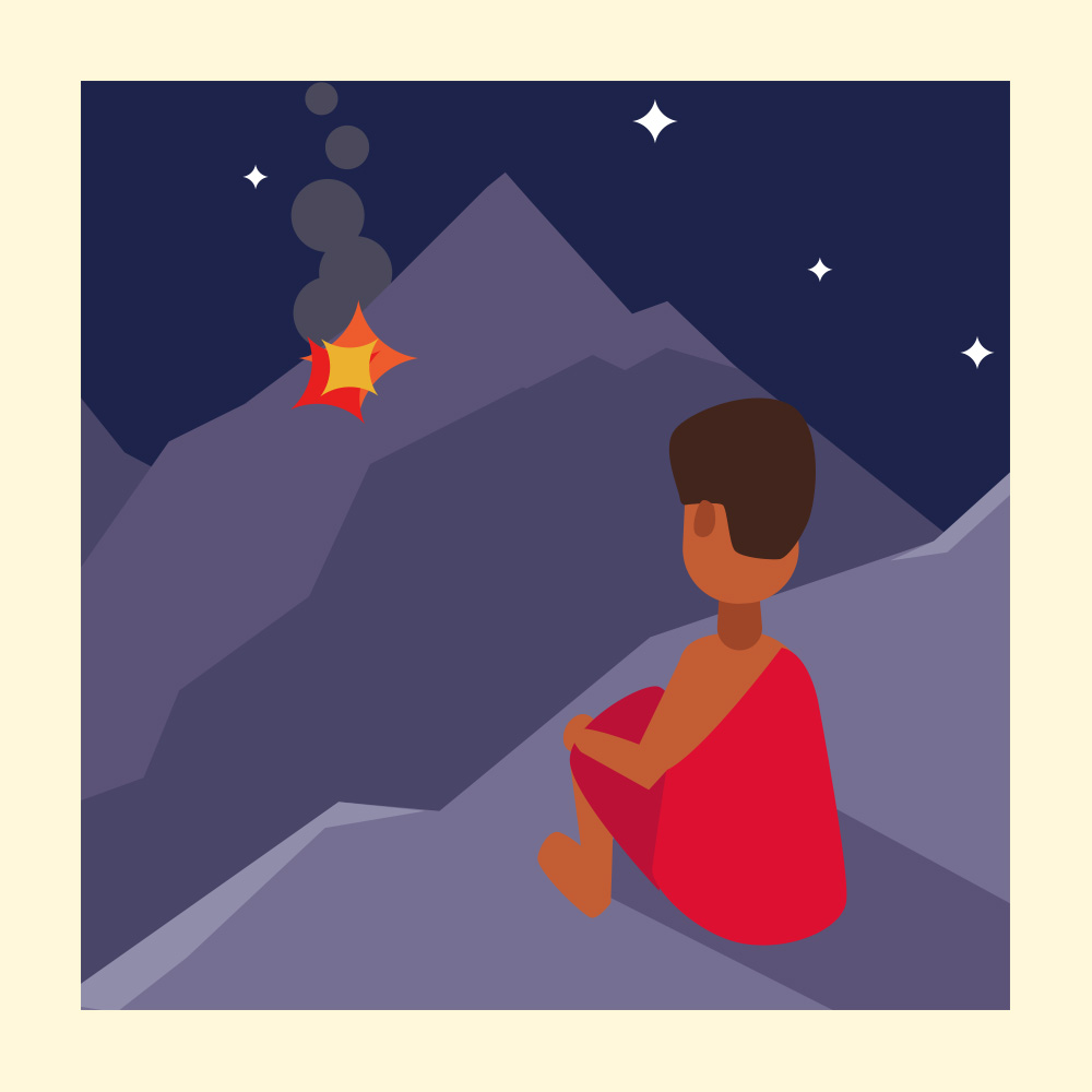 Discover How to Right a Wrong in this African Folktale -Storytelling Podcast for Kids - Fire on the Mountain:E98