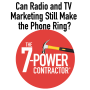 Artwork for Can Radio and TV Marketing Still Make the Phone Ring?