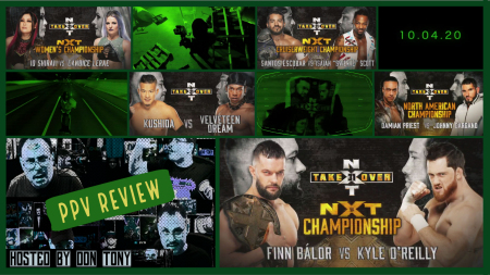 WWE NXT TakeOver 31 PPV Recap 10/04/2020 show art