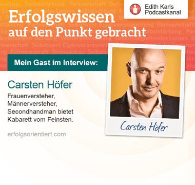 137 – Im Gespräch mit Carsten Höfer
