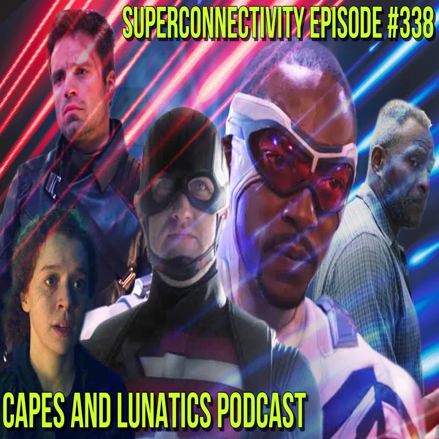 Superconnectivity Ep #338: The Falcon and The Winter Soldier FINALE, Way of X #1