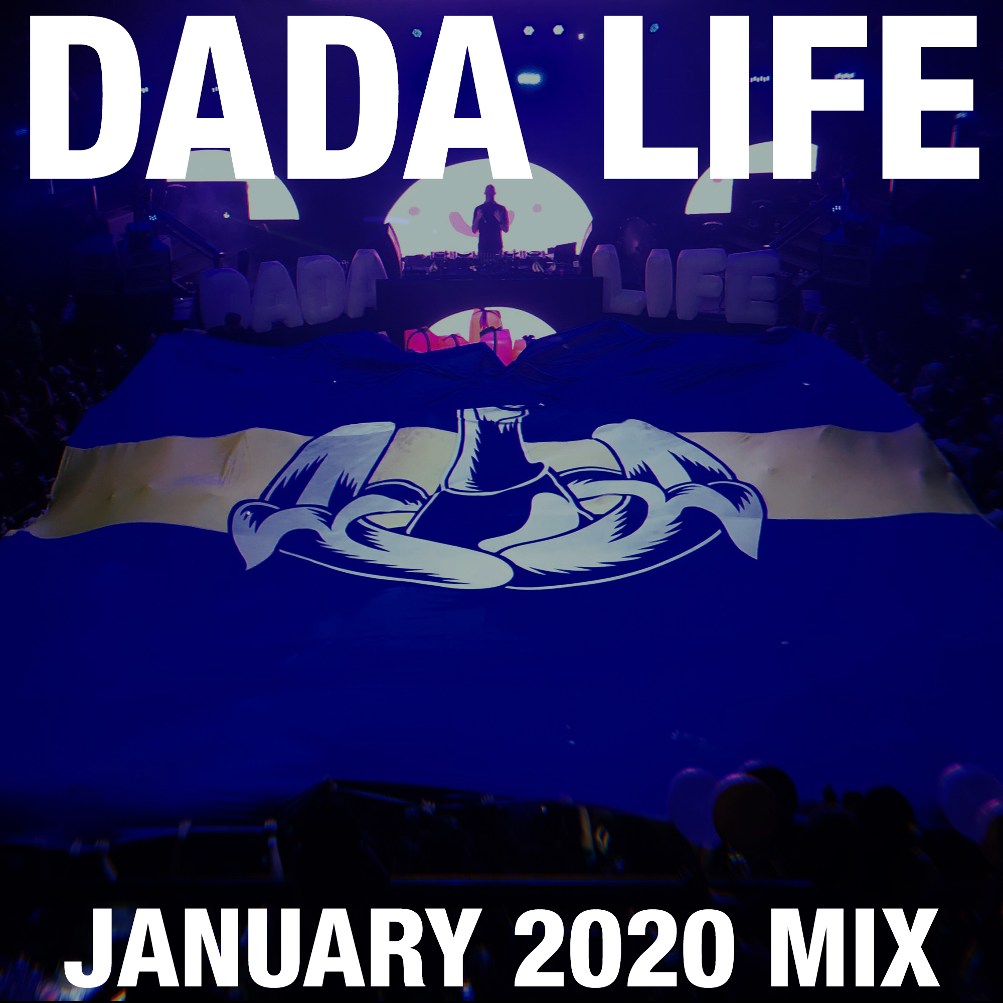 Dada Land January 2020 Mix show art