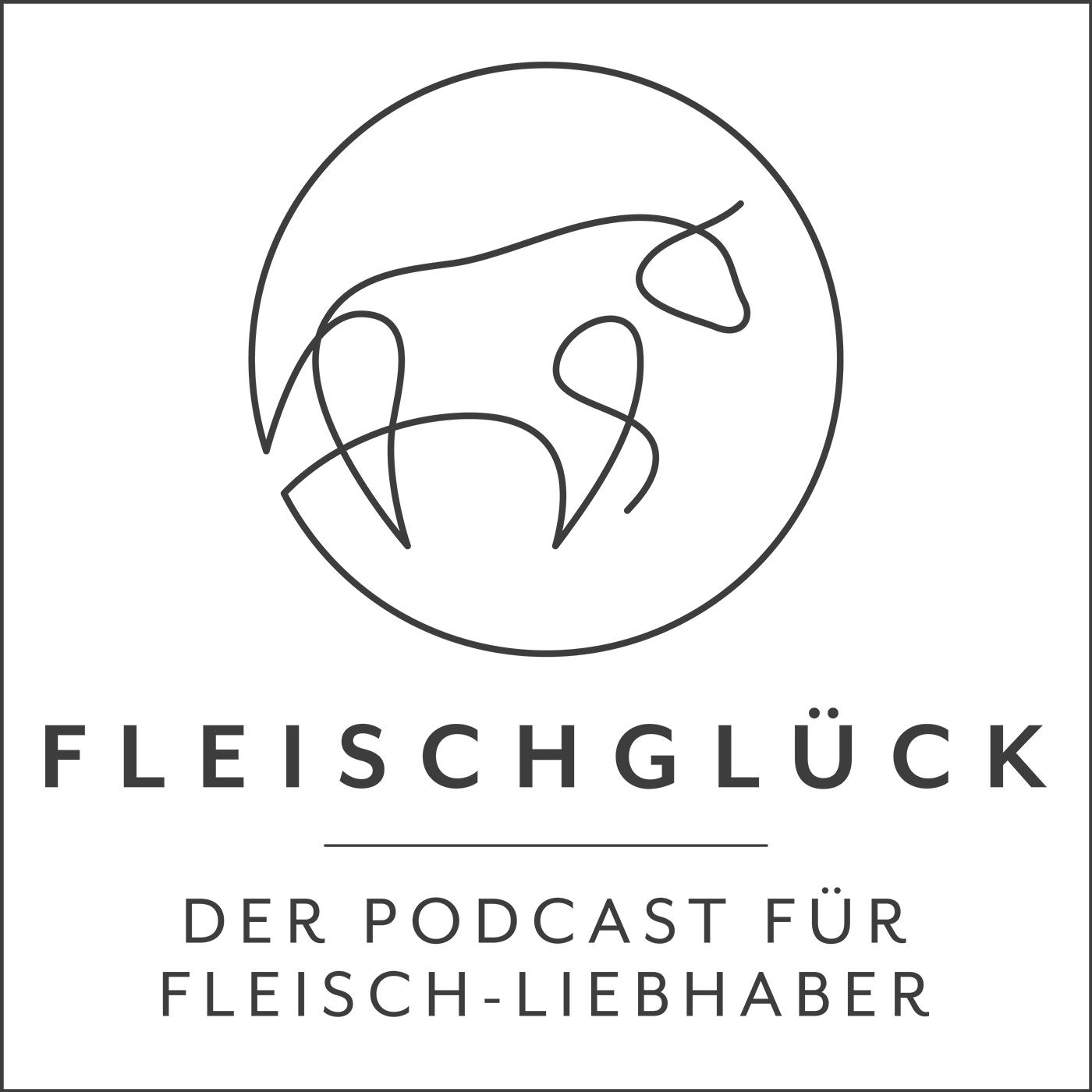 Fleischglück Podcast show art