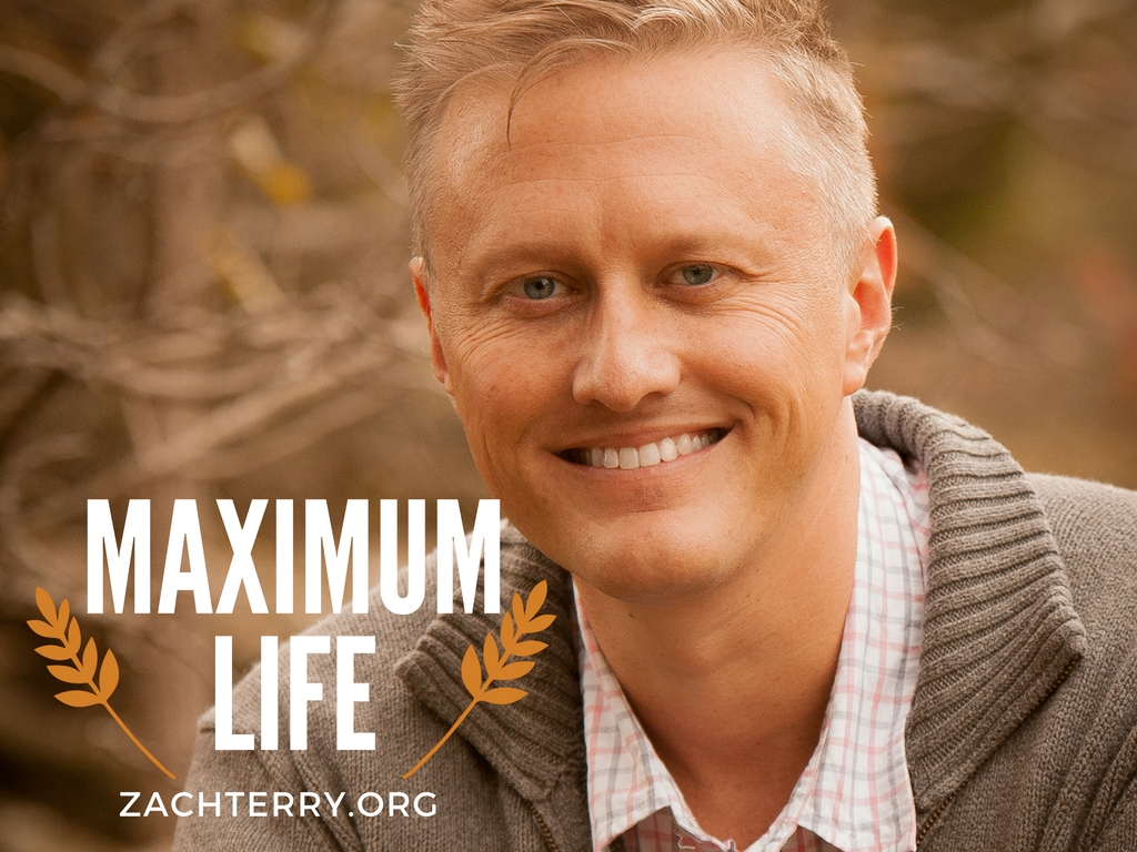 Maximum Life with Pastor Zach Terry logo