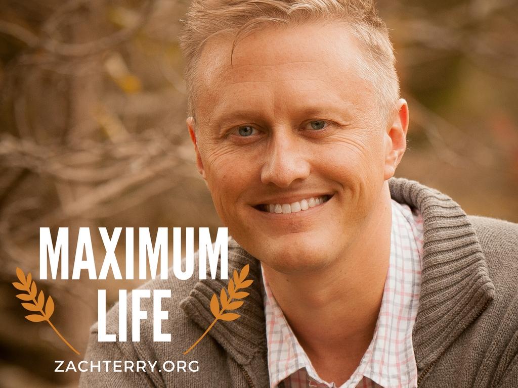 Maximum Life with Pastor Zach Terry logo