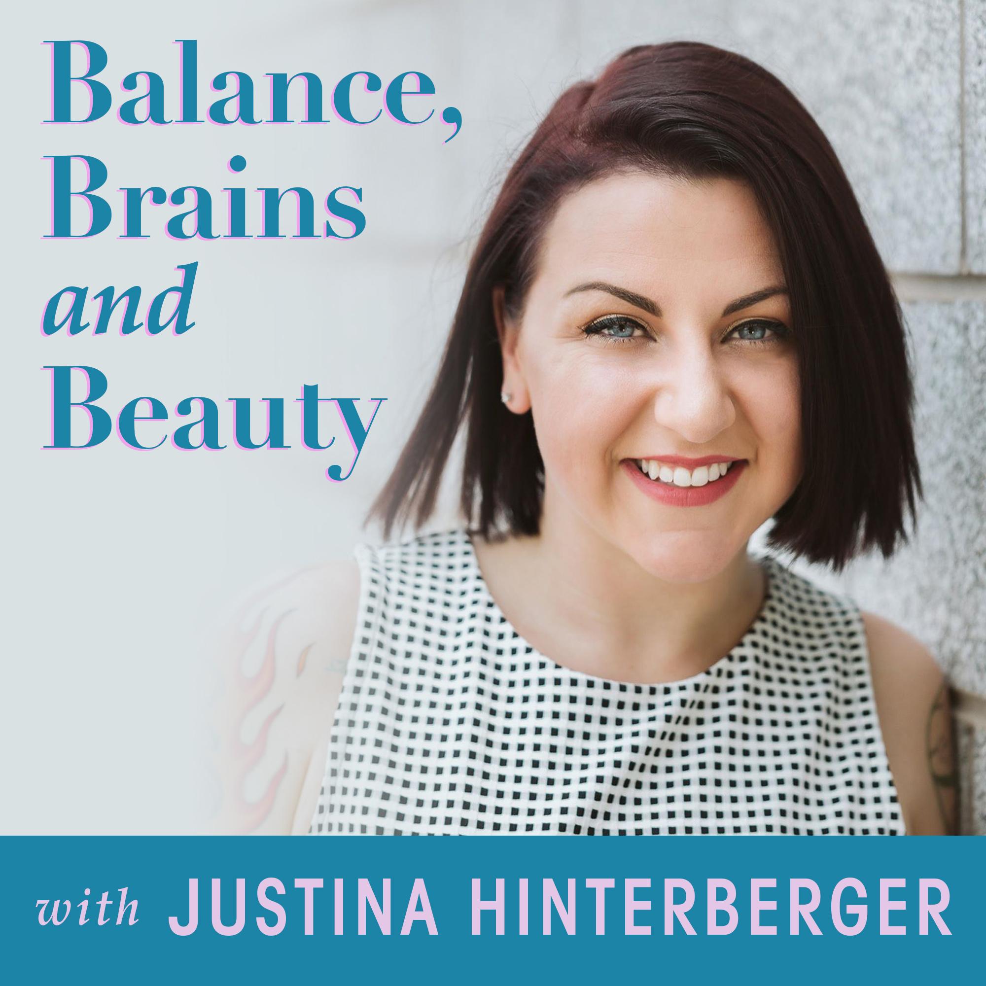 Balance, Brains and Beauty show art
