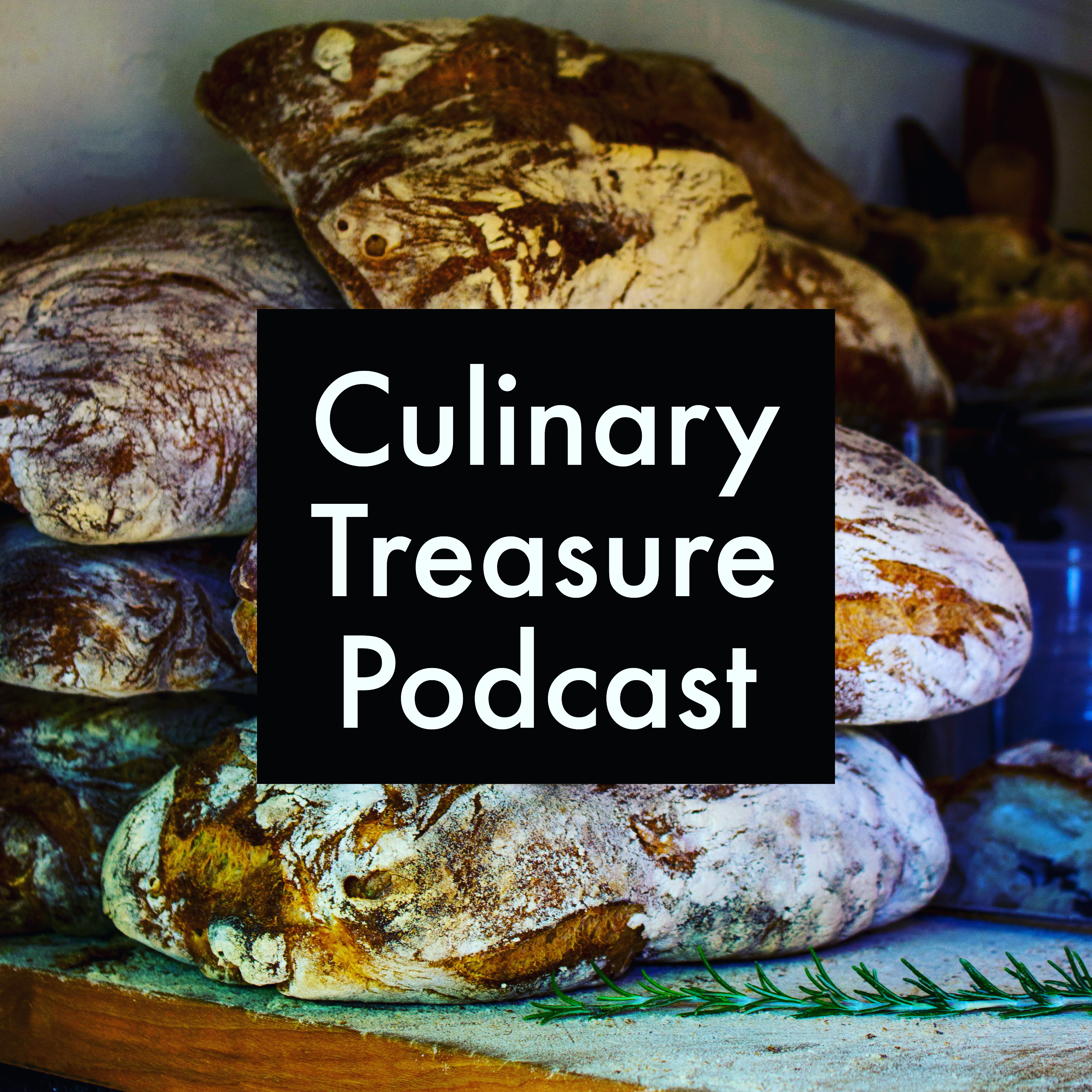 Culinary Treasure Podcast show art