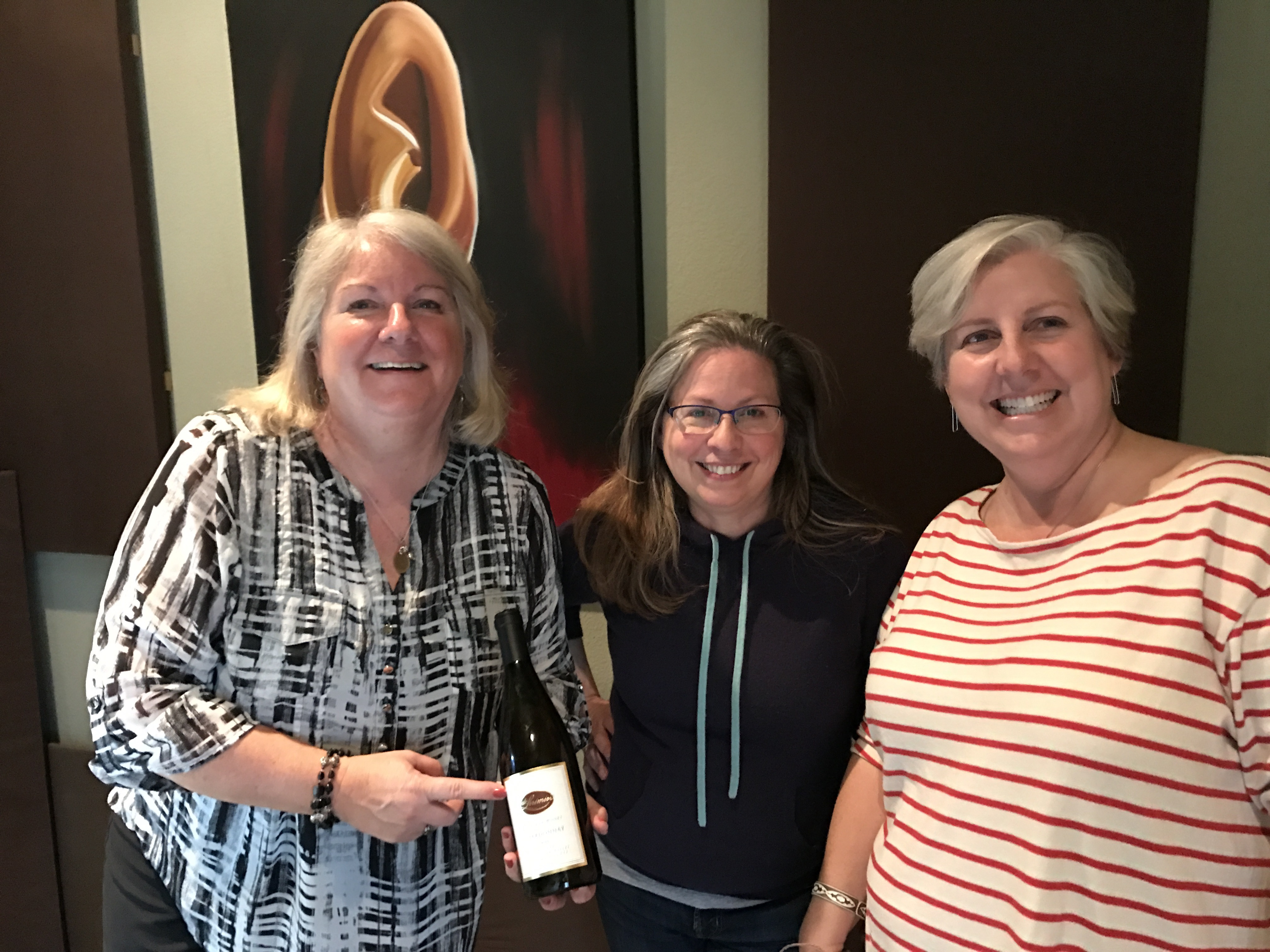 DJ Bethy-Beth, (deLorimier Winery Chardonnay), Millie Winehouse, Donna del Ray