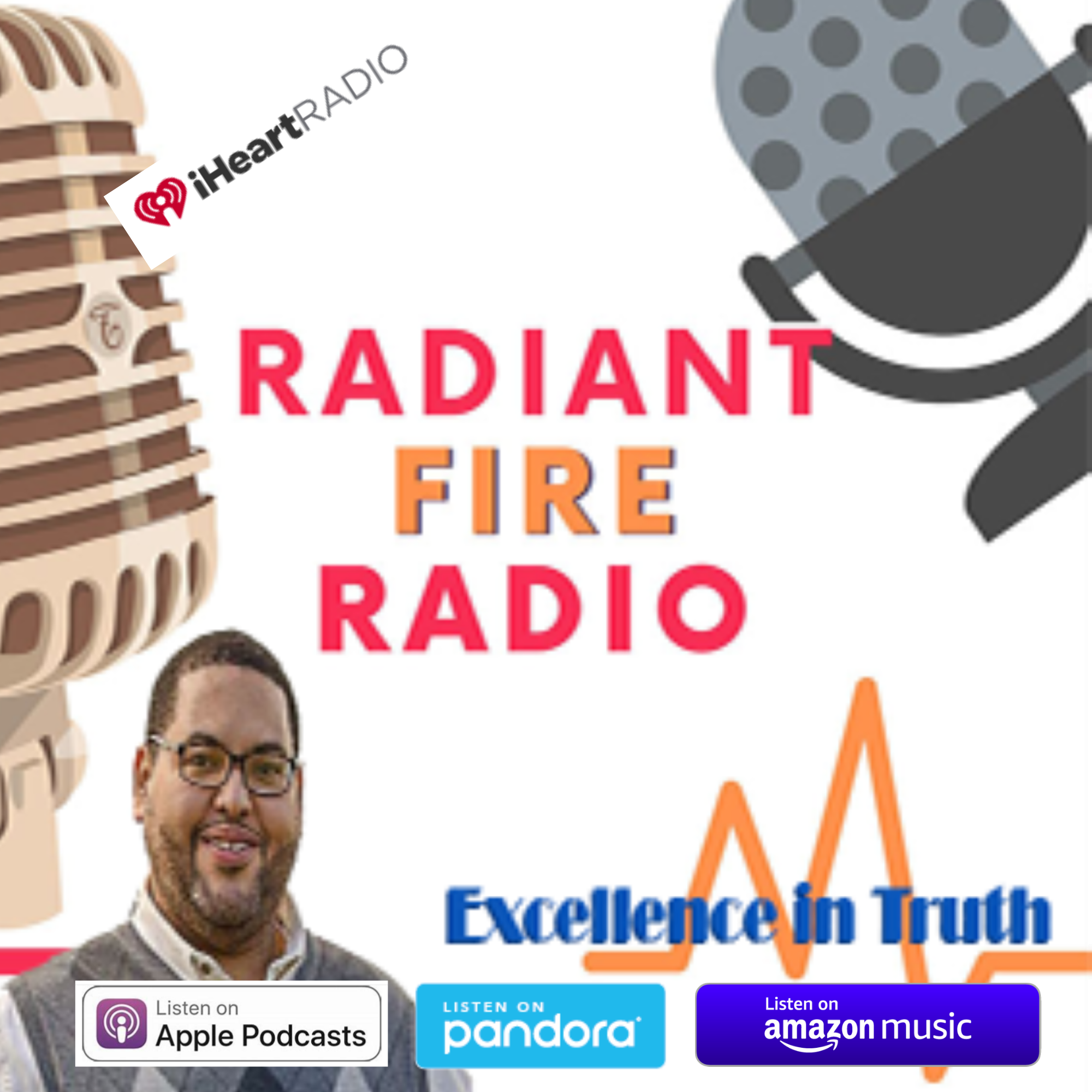 Radiant Fire Radio show art