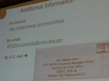 NNSA Withdraws LOI for KC Nuke Plant Environmental Impact Statement