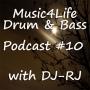 Artwork for Music4Life Drum & Bass Show #10