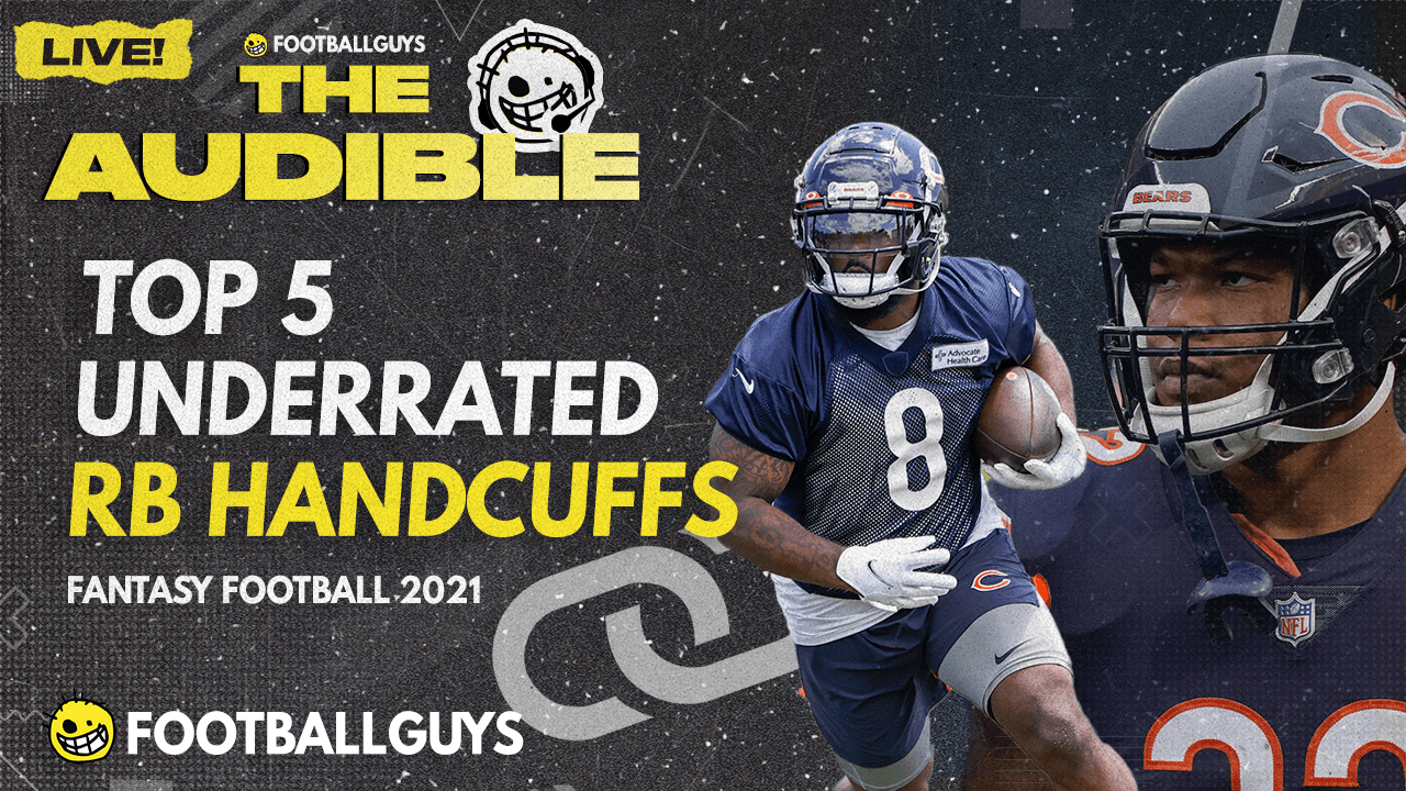 TOP 5 UNDERRATED RB HANDCUFFS - Fantasy Football 2021