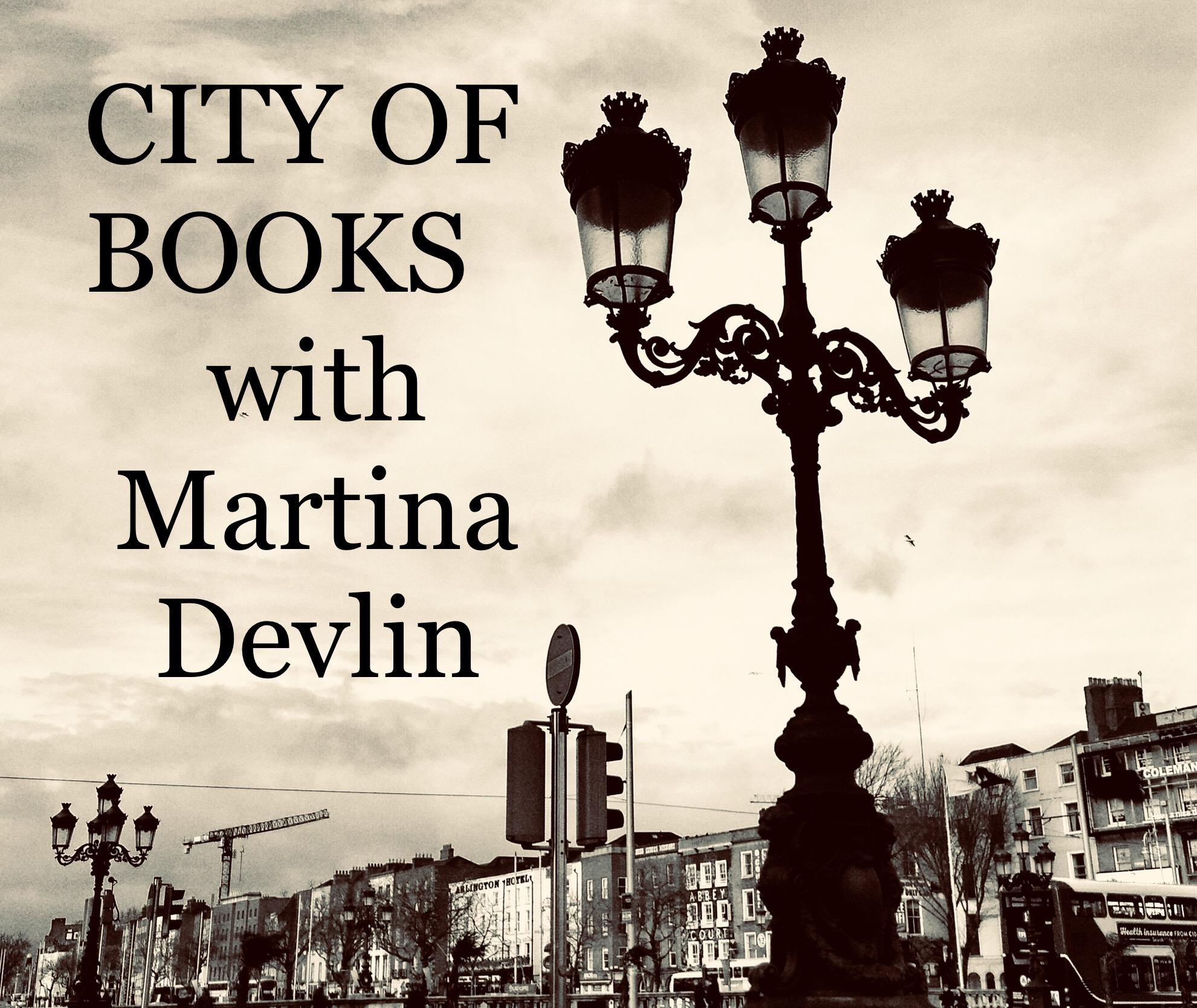 City of Books Trailer show art