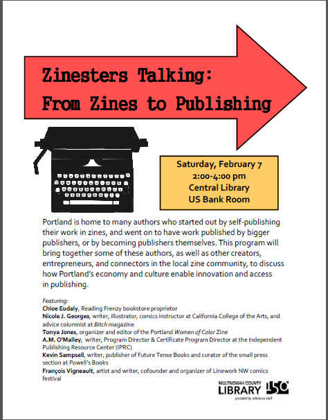 Zinesters Talking: From Zines to Publishing