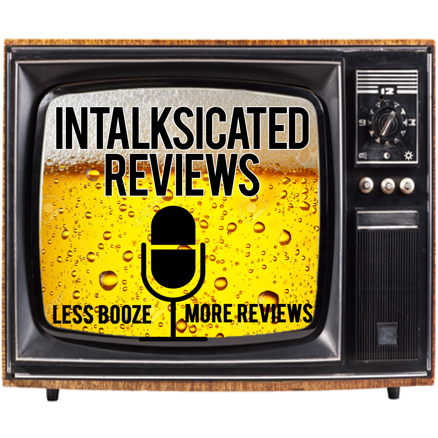 InTalksicated Reviews show art