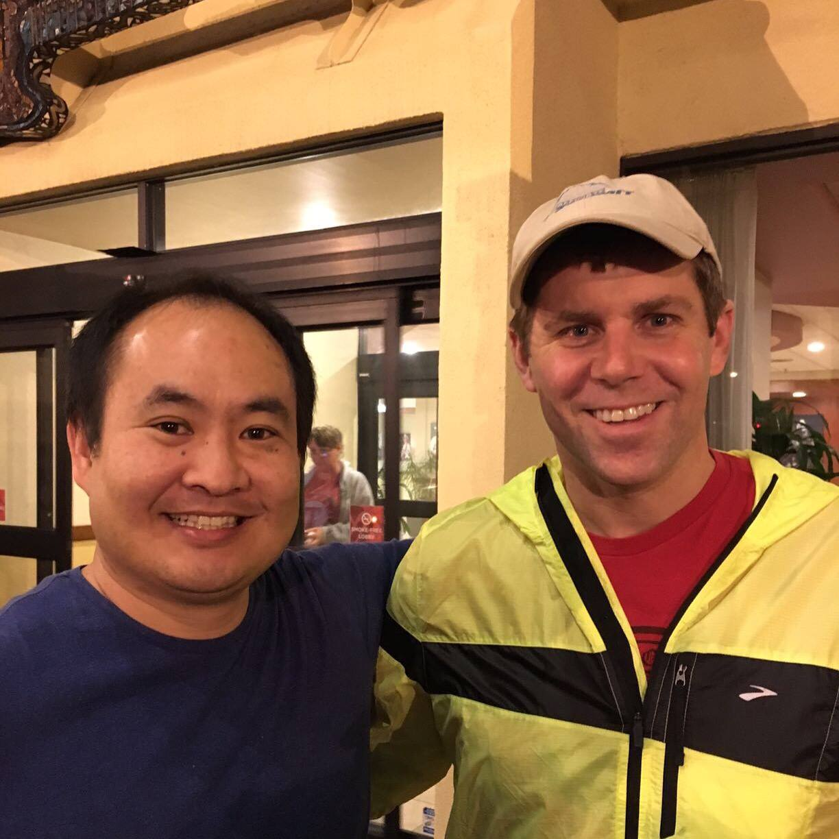Dennis Yu and Shawn Collins