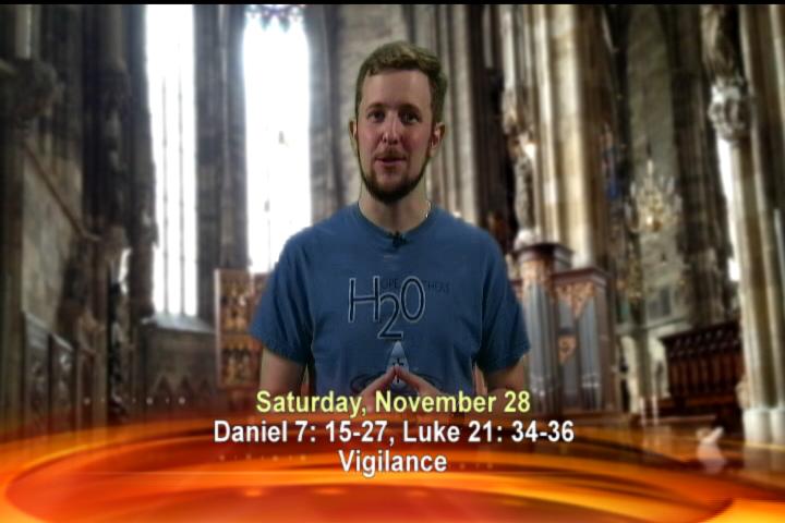Artwork for Saturday, November 28th Today's Topic: Vigilance