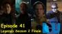 Artwork for The Earth Station DCU Episode 42 – Legends Season 2 Finale