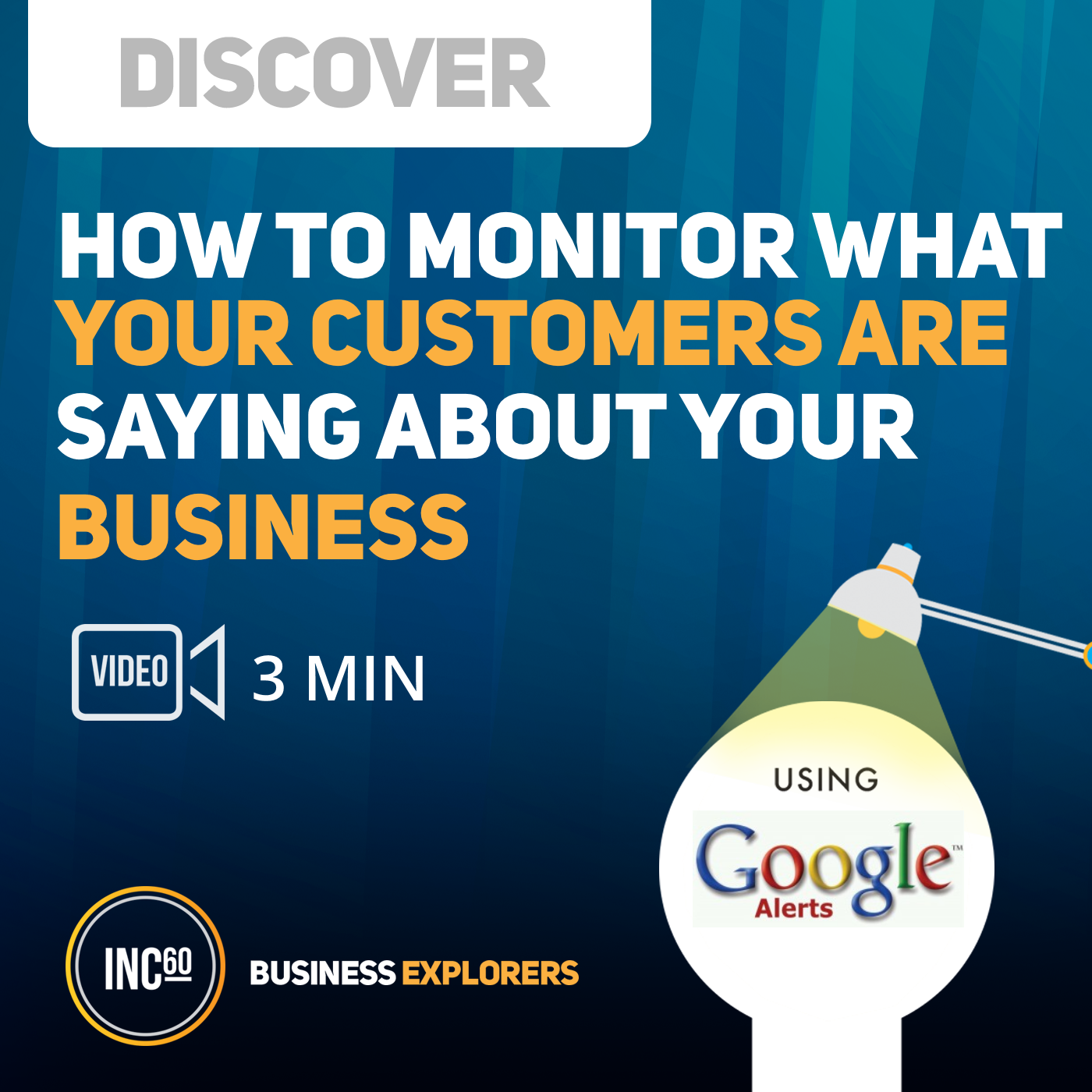 Artwork for Discover what your customers are saying about your business - 3 mins