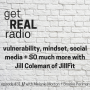 Artwork for episode #31: vulnerability, mindset, social media + SO much more with Jill Coleman of JillFit