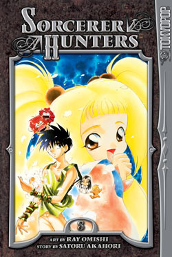 Manga Review: Sorcerer Hunters Volume 8