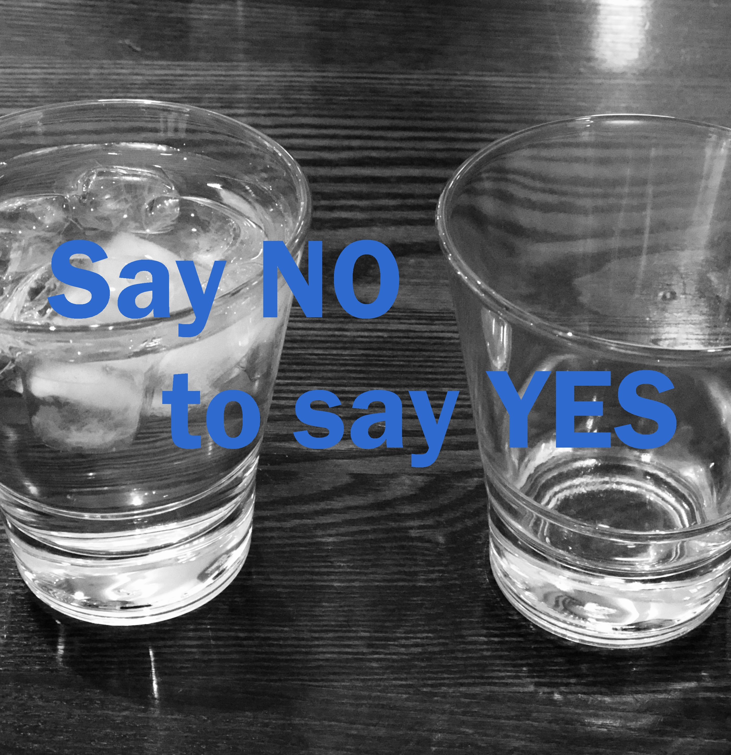 Artwork for Say NO to say YES