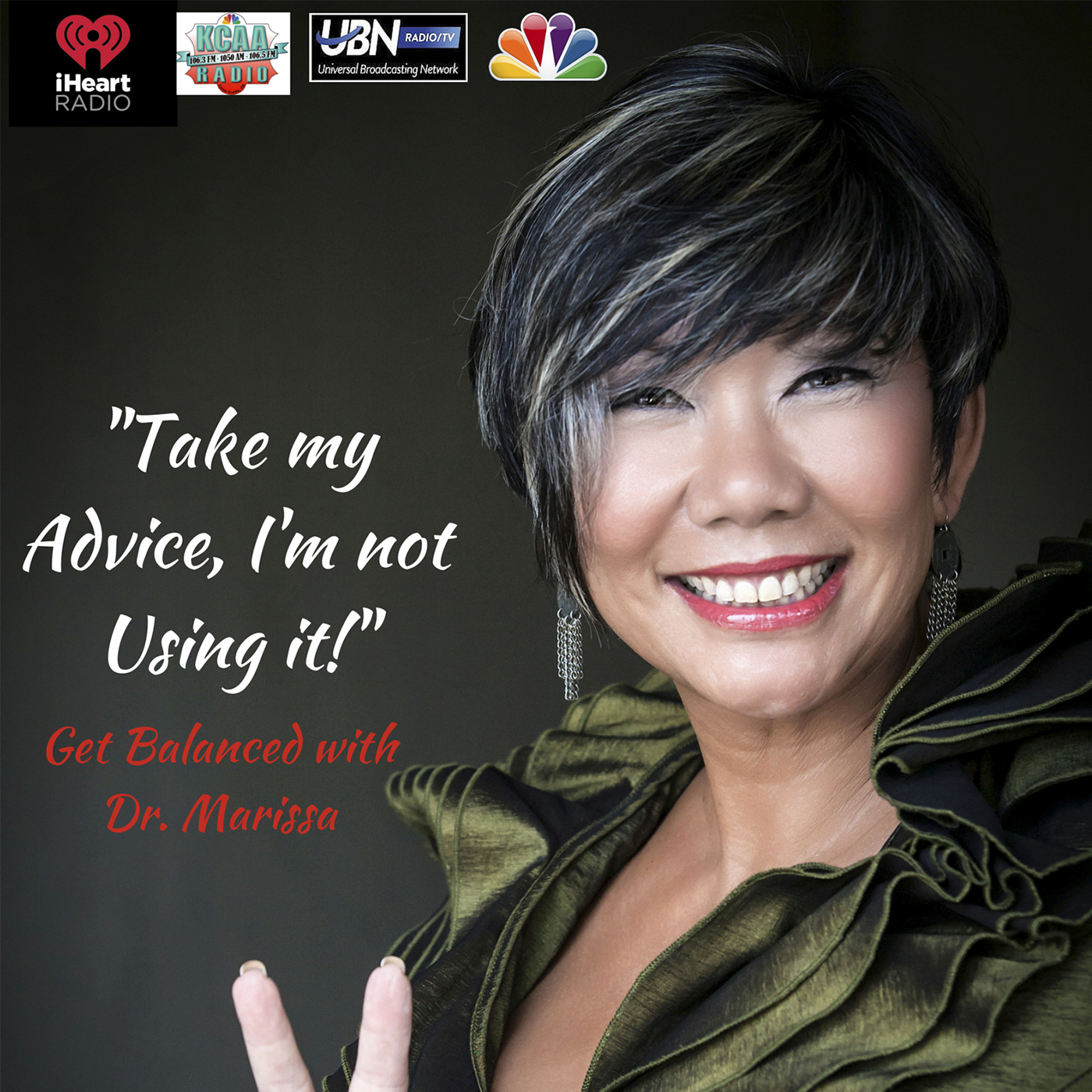 Artwork for Inspired Action Advice with Dr. Marissa for Callers looking for more Life Balance