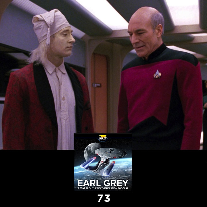 Earl Grey 73: Captain of the Play