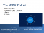 Artwork for The MSDW Podcast, October 17, 2016: Dynamics 365 edition