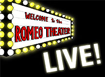 RTX003-Invitation to 'Romeo Theater LIVE'