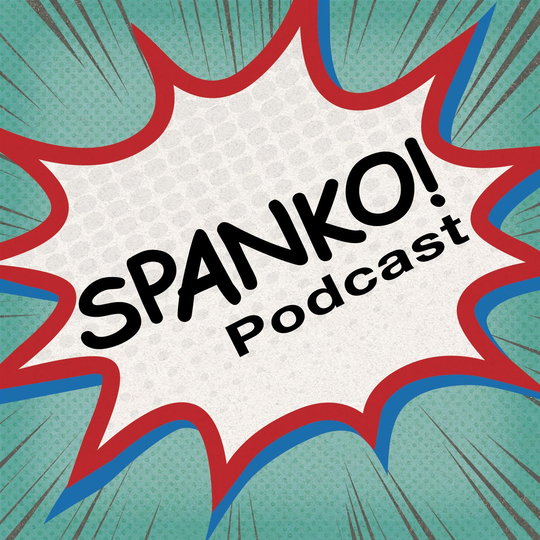 Spanko! Podcast show art