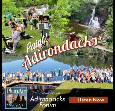 PleinAir Podcast 137: Artist Forum in the Adirondacks - OutdoorPainter