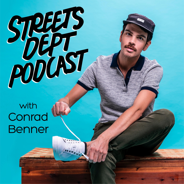 Streets Dept Podcast show art
