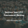 Artwork for Increase Your LIVE Tournament 3betting | MED Monday #18