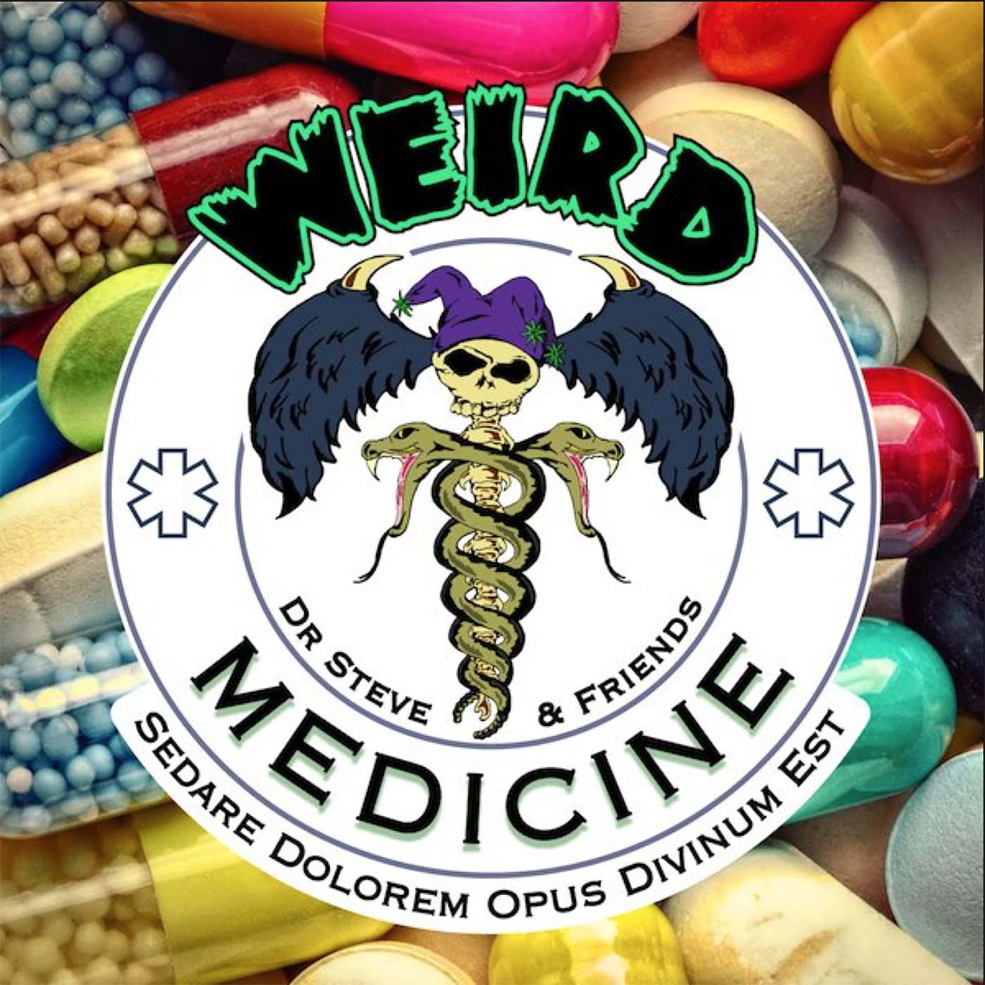 Weird Medicine: The Podcast show art