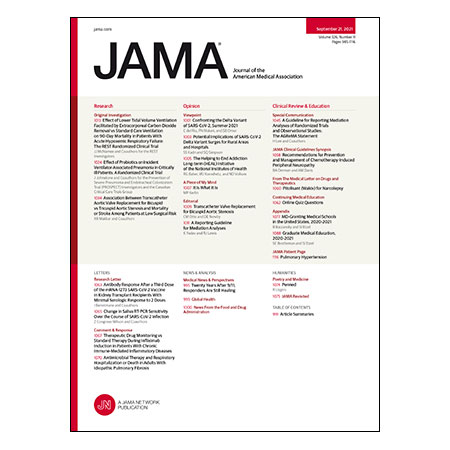 Low Tidal Volume Mechanical Ventilation Using ECCO2R, Probiotics to Prevent VAP in the ICU, TAVR for Bicuspid Aortic Stenosis, Medical Schools in the US, and more
