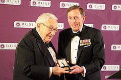 Dr Henry Kissinger Awarded RUSI Chesney Gold Medal