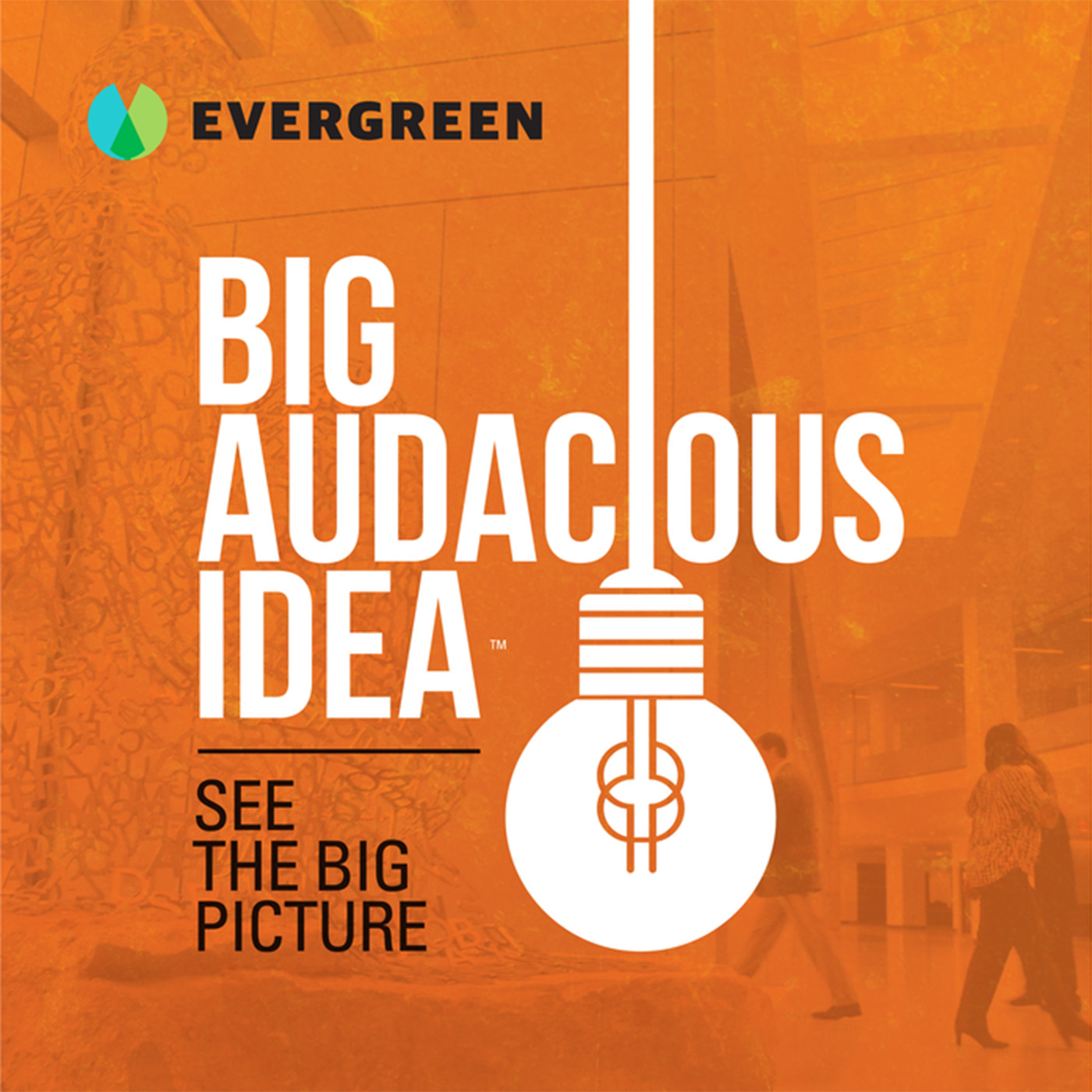 Big Audacious Idea show art